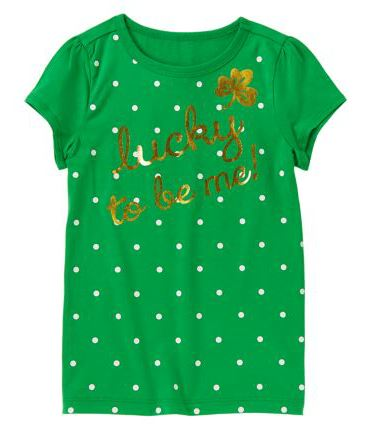 How To Get Gasoline Out Of Clothes >> St. Patrick's Day Kids' Tees for $4 at Crazy 8