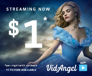 VidAngel: Stream Movies for $1 a Day (with Optional Parental Controls)