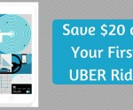 Save $20 on Your First Uber Ride