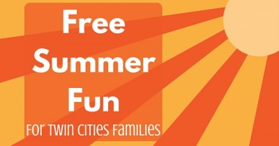 Free Summer Fun 2018 for Twin Cities Families
