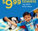 Disney Store Beach Towels $10