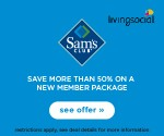 Get a Sam's Club 1-Year Savings Membership ($45 Value) + $10 Gift Card for $25