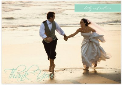 Wedding Thank You Photo Cards from 23Ã' ¢ Each + Free Shipping