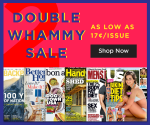 DiscountMags: 2-Year Magazine Subscriptions from $8.99