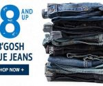 Big Savings on Back-to-School Clothes at Carter's and OshKosh B'gosh + Free Shipping