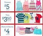 Gymboree: Dresses from $5, Pants and Shorts from $4 + Free Shipping