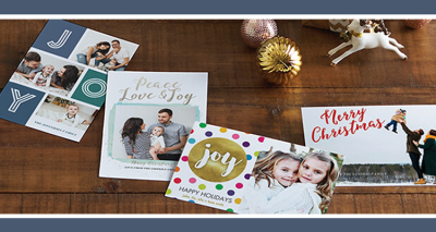 Amazon Prints: Custom 5×7 Holiday Cards for $0.30 Each + Free Shipping for Prime Members