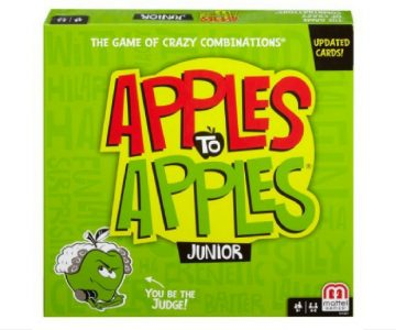 Apples to Apples Junior Game $9 from Amazon or Walmart