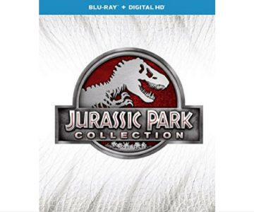 Amazon: Jurassic Park 4-Movie Collection on Blu-Ray + Digital $20 – Today Only