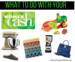 Spend Your Kohl's Cash: $15, $30, $45 and $60 Deal Ideas