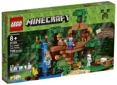 LEGO Minecraft The Jungle Tree House Set – 30% Off