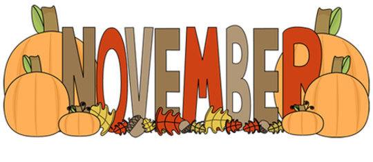 Image result for november for kids