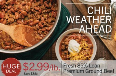 Lunds & Byerlys 99Ã' ¢ Chili Sale + Get Your Thanksgiving Turkey for $0.69/lb.