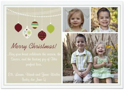 Groupon: Extra 30% Off Personalized Gifts (Holiday Cards from 29Ã' ¢ Each, Shipped)