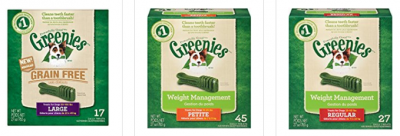 Greenies Dental Dog Treats 50% Off Today at Amazon