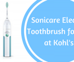 *STILL AVAILABLE* Kohl's: Philips Sonicare Essence Electric Toothbrush for $19 + Free Store Pickup