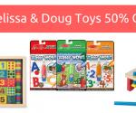 Amazon: Melissa & Doug Toys 50% Off – Today Only