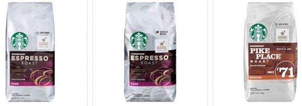 Get 3 Starbucks Coffee Bags For 12 Free Shipping