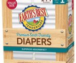 Earth's Best Diapers (Chlorine- and Fragrance-Free) from 9Ã' ¢ Shipped for Amazon Family Members