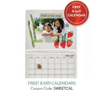 Snapfish: Personalized Wall Calendar for $5.99 Shipped (Exp. 1/24)