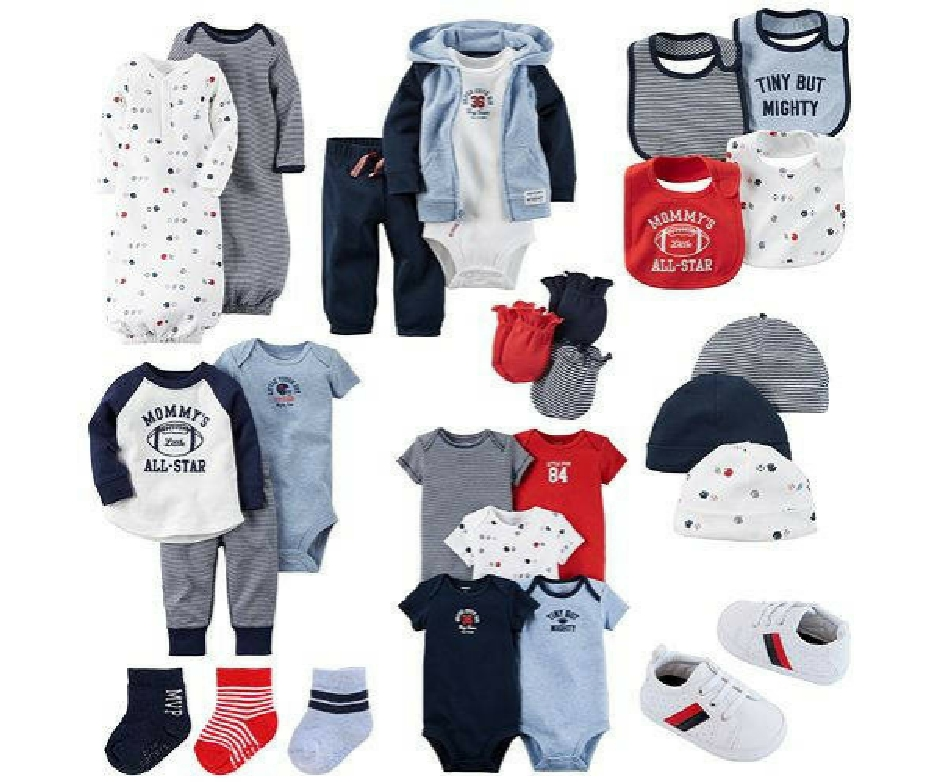 c04a6928f Kohl's Baby Sale: Carter's 3-Piece Sets $7, Valentine's Day Apparel + More