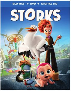 """Storks"" Blu-ray / DVD / Digital Combo Pack for $10 at Amazon (Prime Members) and BestBuy.com"