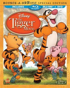 """The Tigger Movie"" Blu-ray / DVD for $10 at Amazon"