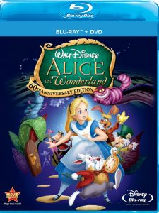 """Alice In Wonderland"" Blu-ray / DVD for $10 at Amazon and BestBuy.com"