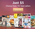 Amazon: 70+ Magazine Subscriptions for $5 (Dr. Oz The Good Life, Sports Illustrated Kids + More)