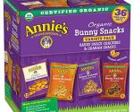 Annie's Organic Bunny Snacks Variety Pack $8 + Free Shipping