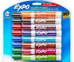 Expo Dry Erase Markers 16-Pack for $7.49 + Free Shipping