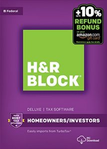 H&R Block Tax Software Up to 63% Off on Amazon – Today Only