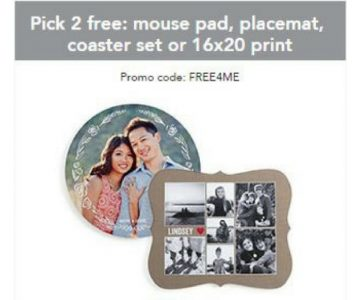 Shutterfly: Choose Two Free Products (Just Pay S&H)