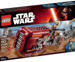 Amazon: LEGO Star Wars Rey's Speeder for $12 (42% Off)