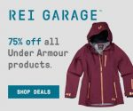 Under Armour Clothing and Outerwear 75% Off at REI Garage