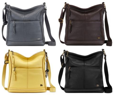 The Sak Lucia Leather Crossbody Bag  40