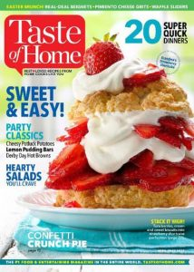 Taste of Home Magazine Subscription $5/Year