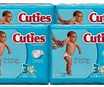 Get 144 Cuties Size 3 Baby Diapers for $10 Shipped (7Ã' ¢/Diaper)