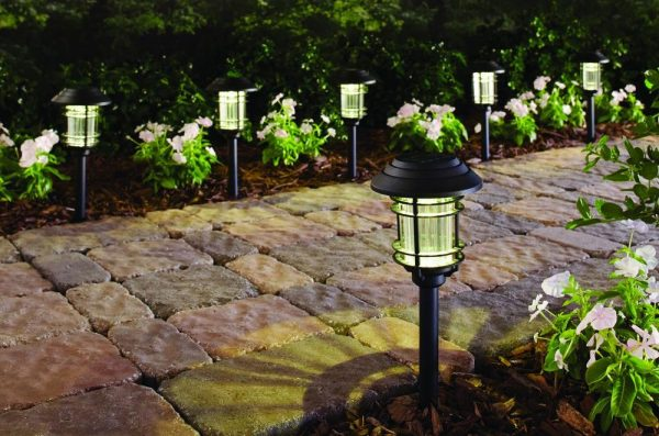 led pathway lights. Chances Are You\u0027re Focusing More Of Your Energy Outside, Right? Keep Pathway Lit In The Evening With This \u201a Hampton Bay Black Solar LED Led Lights H