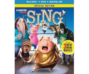 """Sing"" Blu-ray Combo Pack for $13"
