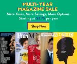 DiscountMags Multi-Year Sale – Buy a Longer Subscription, Get a Lower Price Per Year