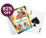 *LAST DAY* Personalized Deck of Playing Cards for Dad – $10 Shipped