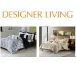 Designer Living Bedding Sale: Comforter Sets, Duvet Sets, and More Under $40