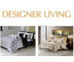 Designer Living Bedding Sale: Comforter Sets, Duvet Sets, and More Under $40