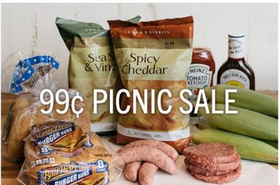 Lunds & Byerlys 99Ã' ¢ Picnic Sale (With Additional $10 Purchase)