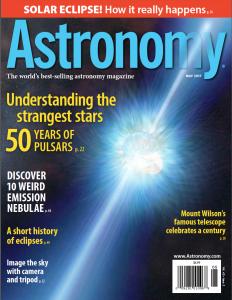 Astronomy Magazine Subscription $14/Year