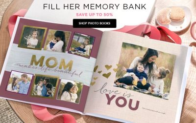 Shutterfly: $10 Off Orders of $10+ This Weekend