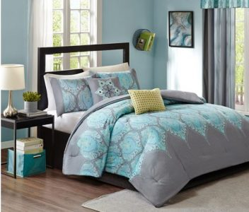 Nice This Aries Comforter Mini Set is and includes queen size forter and standard shams reg