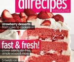 Allrecipes Magazine 2-Year Subscription for $8