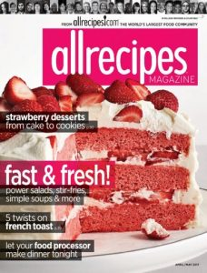 Allrecipes Magazine 2-Year Subscription for $8